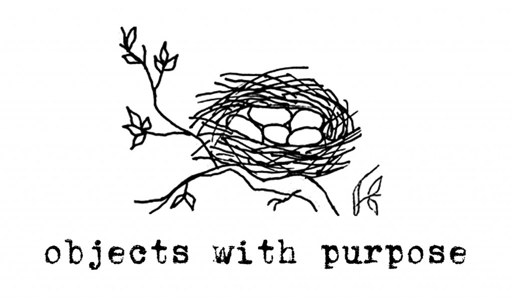 Objects with Purpose logo with title