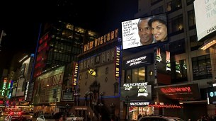 Ray and Bernadette Birthday Billboard