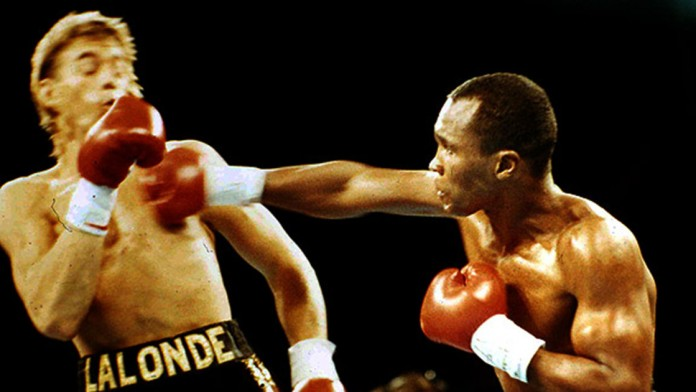 Sugar Ray Leonard vs. Donny Lalonde